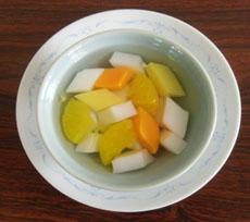 カラフル杏仁