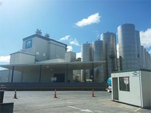 脱脂粉乳生産国視察の写真1
